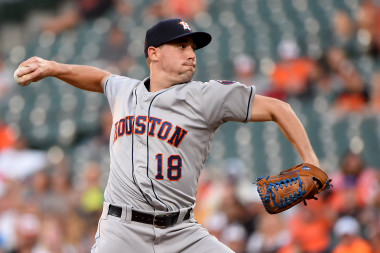 Athletics vs. Astros: Can Aaron Sanchez Continue to Thrive in Houston?