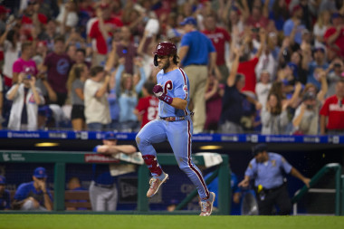 Power Rankings: Bryce Harper's walk-off grand slam lifts Phillies to the top
