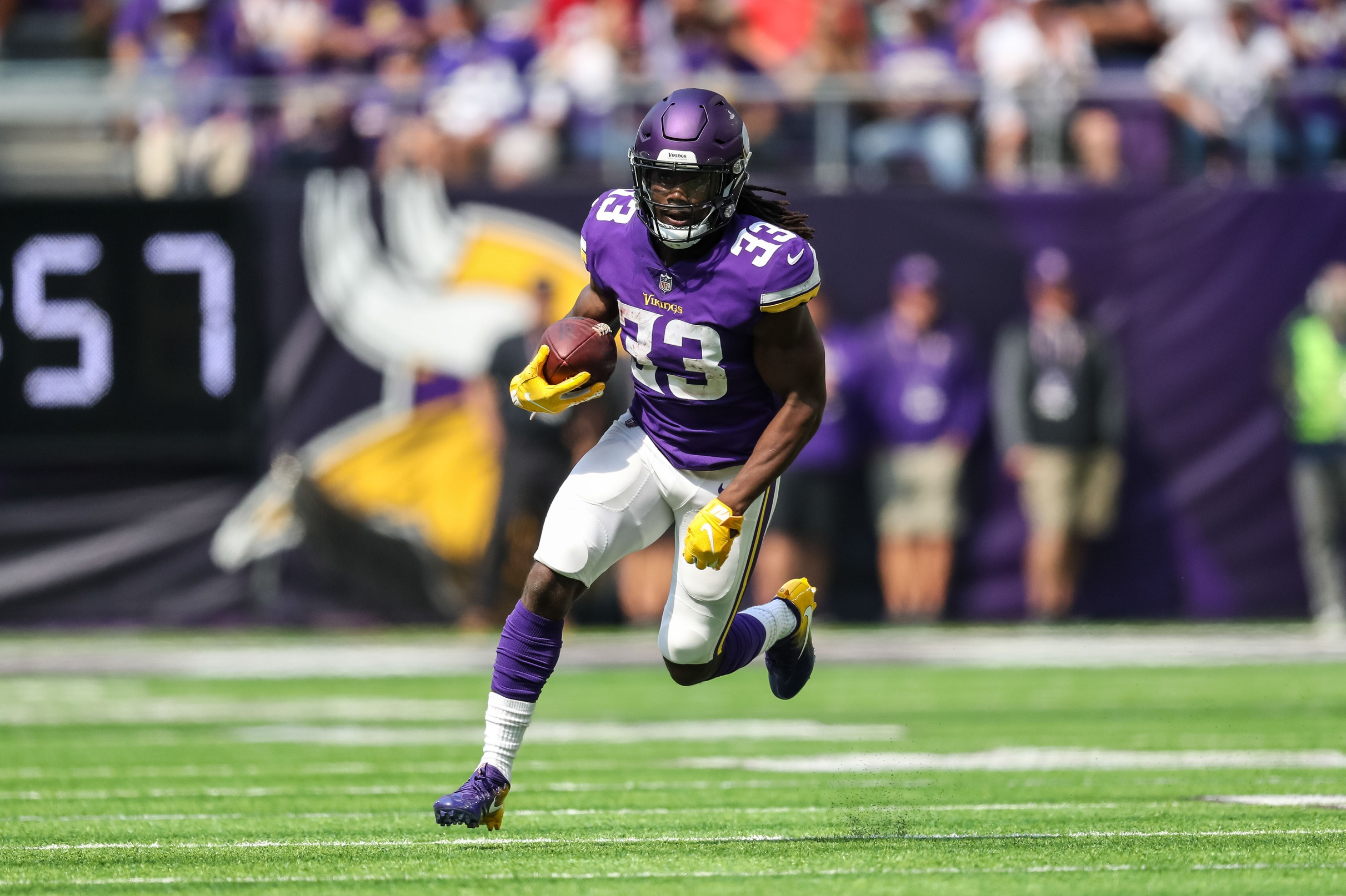 2019 Fantasy Football: Week 1 Running Back Touch, Target Projections