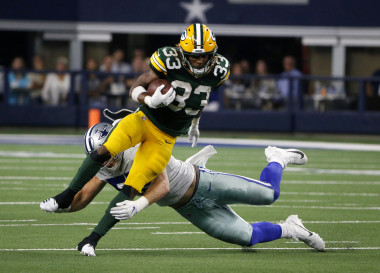 Packers vs. Lions: Can Aaron Jones Keep Good Times Going?