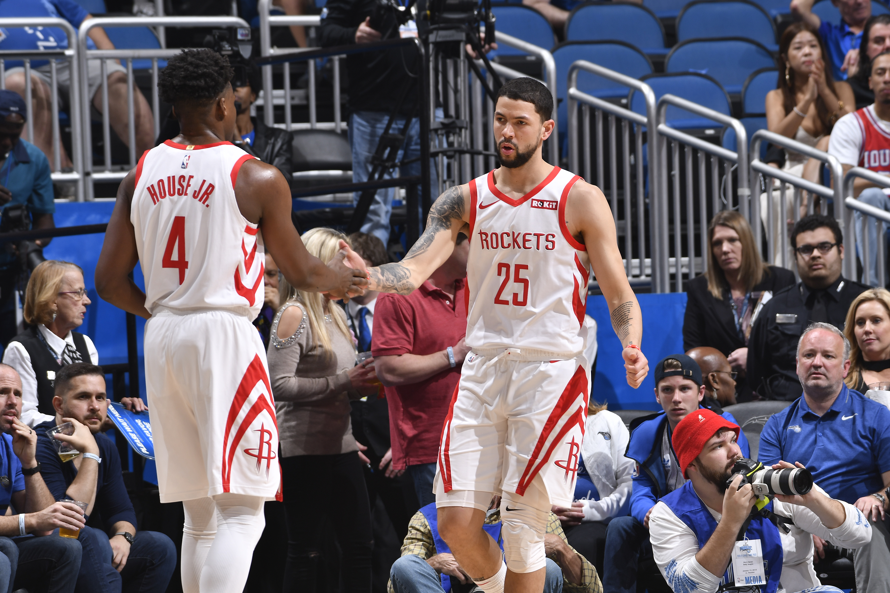 Austin Rivers and Danuel House