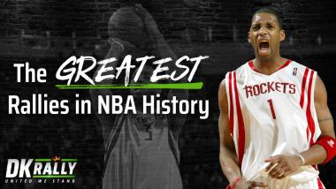 DKRally: Top Five Greatest NBA Rallies