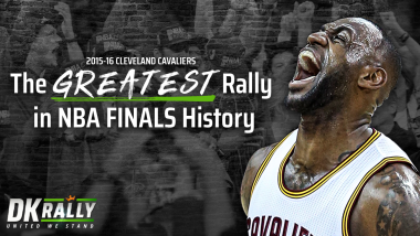 DKRally: The Greatest Rally in NBA Finals History