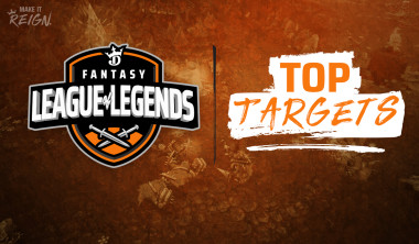 2020 League of Legends (LPL): Top Targets for March 31