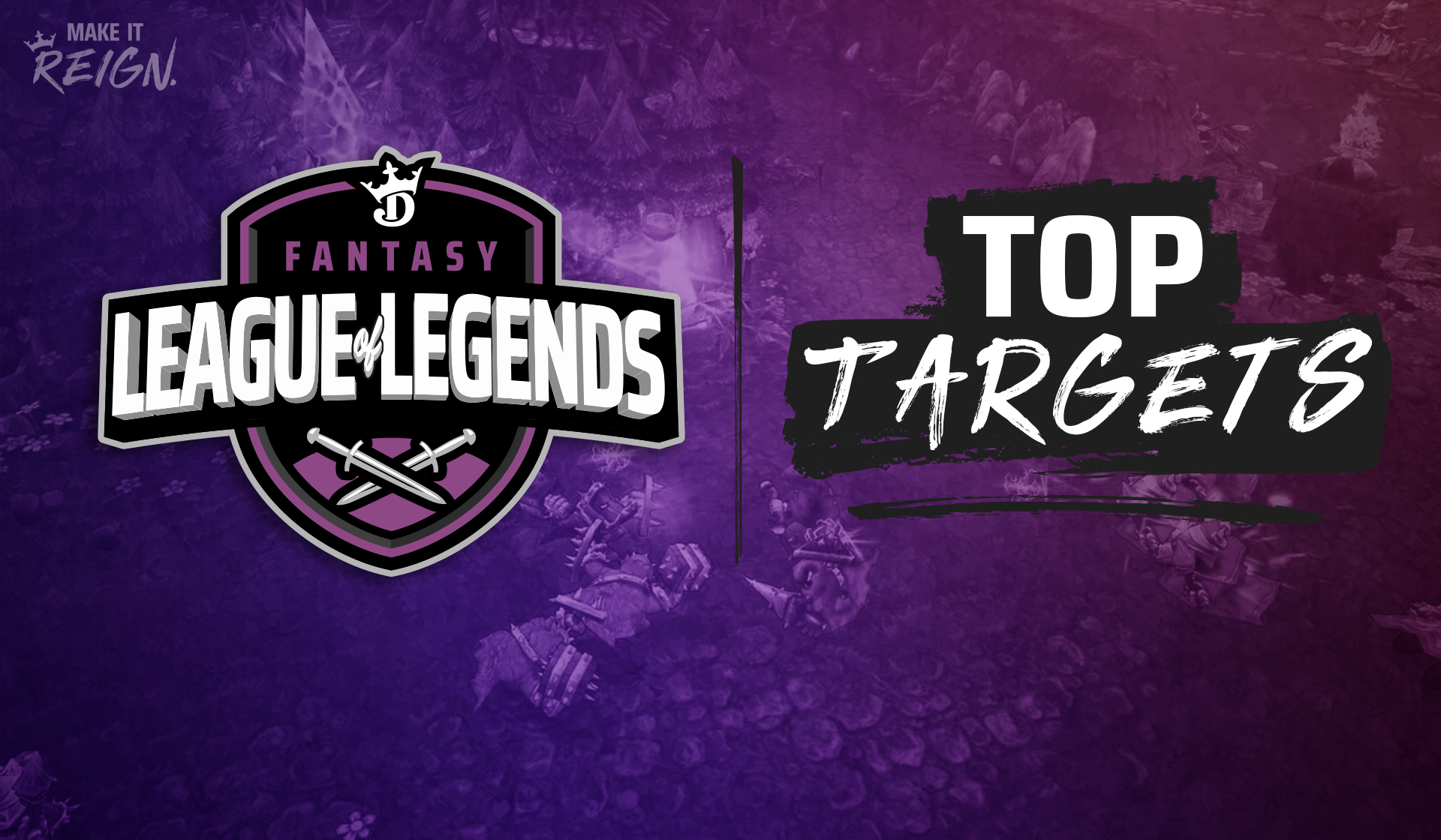 League of Legends purple/black