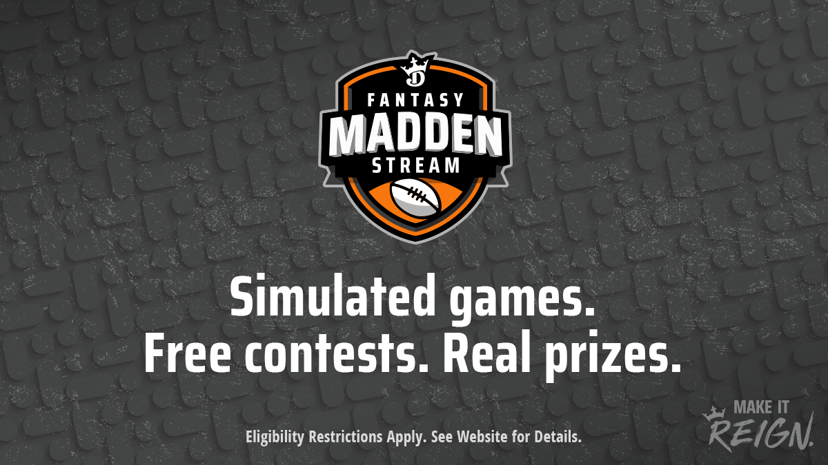 Madden stream with prizes