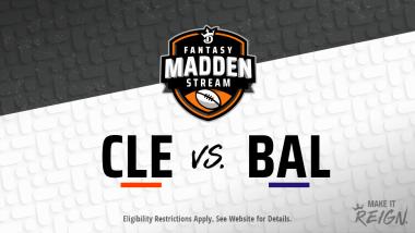 Madden Stream: Browns vs. Ravens Showdown Strategies, Depth Charts and Captain's Picks