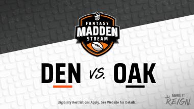 Madden Stream: Raiders vs. Broncos Showdown Strategies, Depth Charts and Captain's Picks