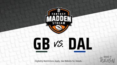 Madden Stream: Packers vs. Cowboys Showdown Strategies, Depth Charts and Captain's Picks