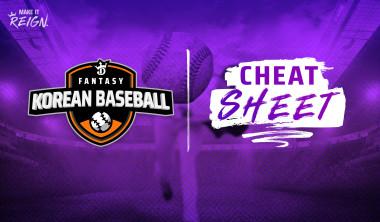 Fantasy Korean Baseball (KBO) Cheat Sheet: DraftKings DFS Picks, Preview for May 14