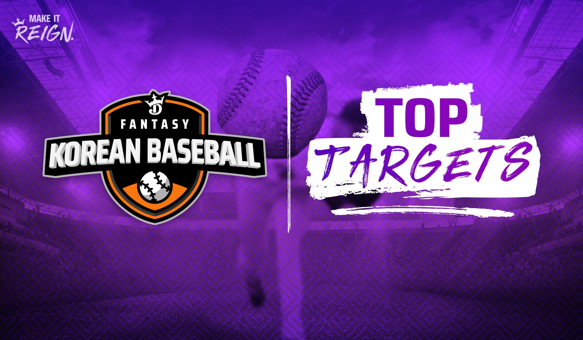Korean Baseball Fantasy Picks: Top DraftKings KBO DFS Targets and Values for June 2