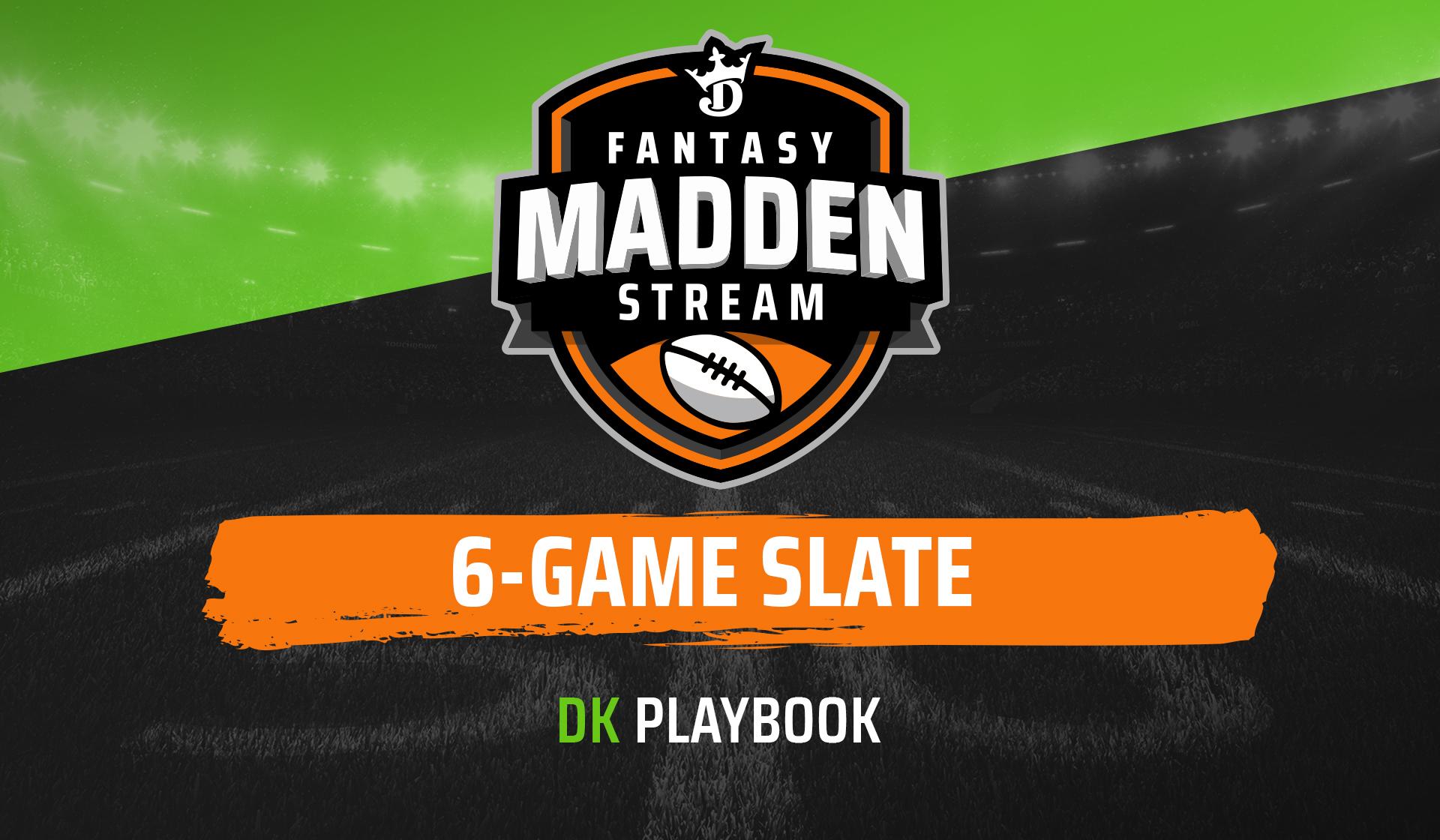 6-game slate