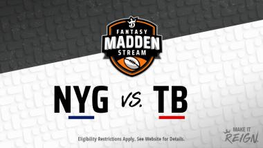 Madden Stream: Giants vs. Buccaneers Showdown Strategies, Depth Charts and Captain's Picks