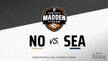 Madden Stream: Saints vs. Seahawks Showdown Strategies, Depth Charts and Captain's Picks
