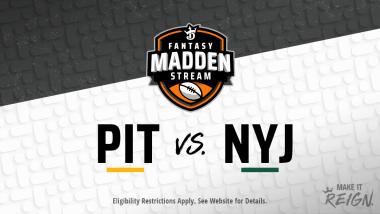 Madden Stream: Steelers vs. Jets Showdown Strategies, Depth Charts and Captain's Picks