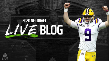 2020 NFL Draft Round 1 DraftKings Fantasy Football Impact, Sports Betting Insight