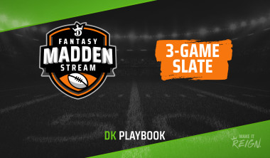 Madden Stream Picks: Top DraftKings Fantasy Football DFS Targets, Values for May 25