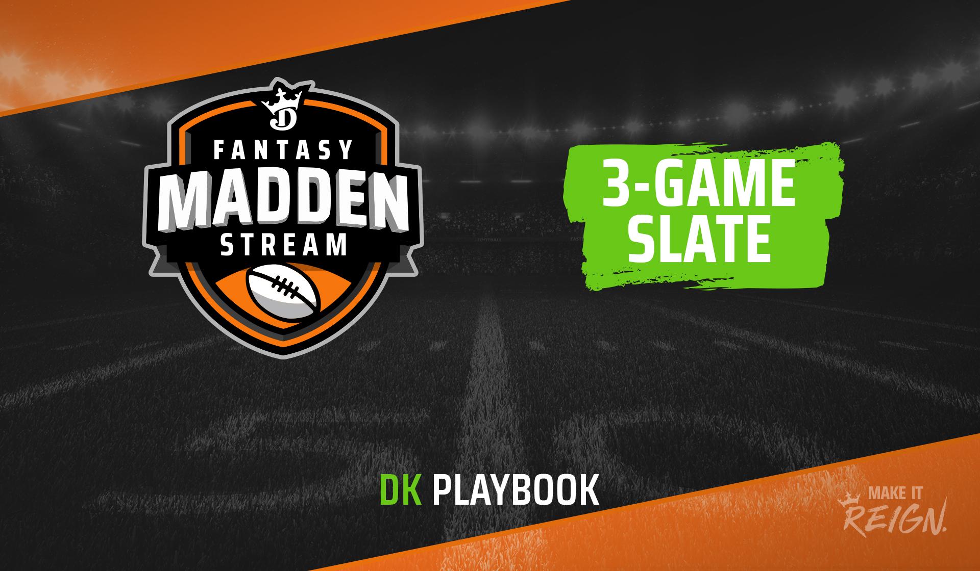 3-game slate