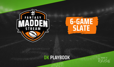 Madden Stream Picks: Top DraftKings Fantasy Football DFS Targets, Values for May 26