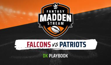 Madden Stream: Falcons vs. Patriots DraftKings Showdown Strategies, Depth Charts and Captain's Picks
