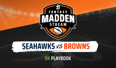 Madden Stream: Seahawks vs. Browns DraftKings Showdown Strategies, Depth Charts and Captain's Picks
