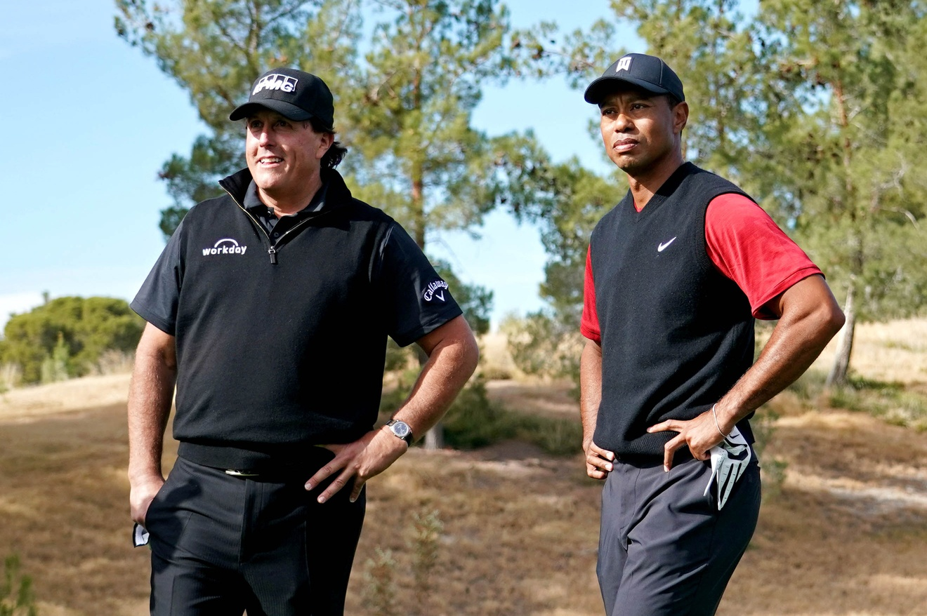 Tiger Woods vs. Phil Mickelson: Match II officially has a date