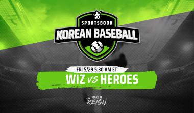 Korean Baseball (KBO): KT Wiz and Kiwoom Heroes Odds, Prop Bets And General Game Information