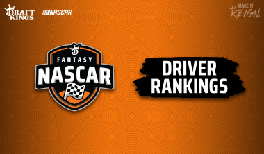 2020 NASCAR DraftKings Fantasy Driver Rankings: NASCAR Cup Series Race at Darlington Raceway